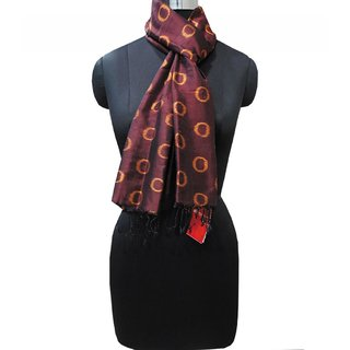 Brown And Golden Simple Stole