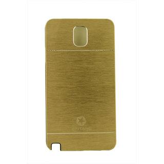 5Ndime Motomo Golden Back Cover For Samasung Galaxy Note 3