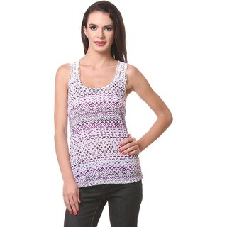 Kotty WomenS Sexy Lace Back Top