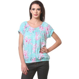 WomenS Floral Printed Top