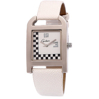 Gesture 8045-WH Women's Watch