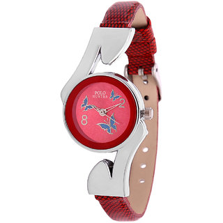 Polo Hunter 8051-RD Women's Watch