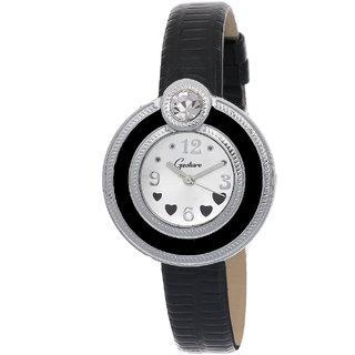 Gesture 8049-SL-BK Women's Watch
