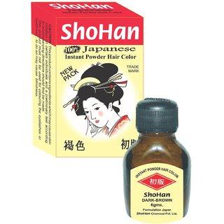 ShoHan Powder Hair Color - DARK-BROWN