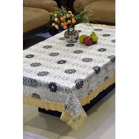 FREELY 3-D PRINTED CENTER TABLE COVER FOR 4 SEATERS - 411