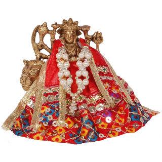 Sai Shop Brass Maa Durga With Decoration