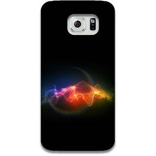 Mott2 Blackbgcolour Back Cover For Samsung Galaxy S6 Edge