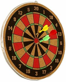 Wood O Plast Dart Board Set 12 inches