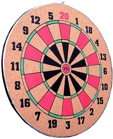Wood O Plast Dart Board Set - 14 Inches YSI