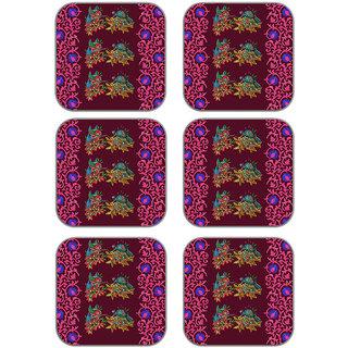 meSleep Bird Wooden Coaster-Set of 6