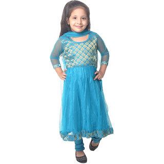 Nitara Kids Lehenga Choli with Dupatta - Sky Blue