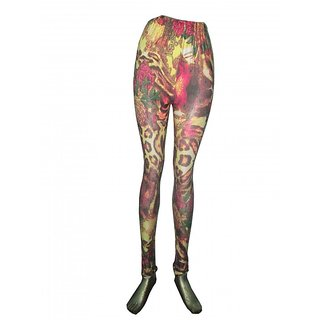 printed legging multi color p1