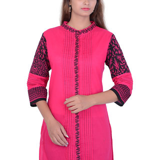 Vinca Overseas Cotton Pin-tuck Kurti