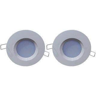 Bene LED Downlight 3w Color of Fixture White, Color of LED Green,1 Yr Warranty