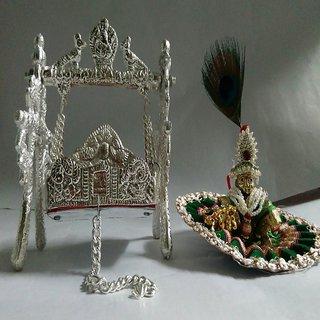 divyA Ladoo Gopal ji with jhoola