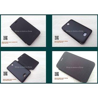 Original nokia asha 501 flip diary case cover black for Wallpaper for home screen nokia asha 501