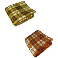 K Decor set of 2 double bed ac blanket