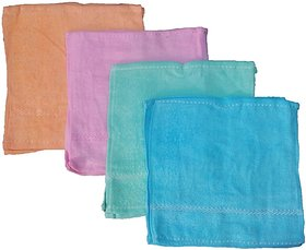 Premium Quality Multicolor Face towel set of 10