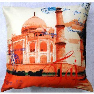 valtellina Taj Mahal A Tribute to Beauty 3D Digital Cushion Cover(DGC_16X16_044)