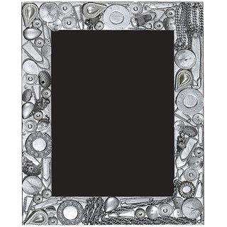 10 am Silver Photo Frame