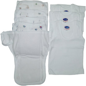 childhood combo of nappy and vest