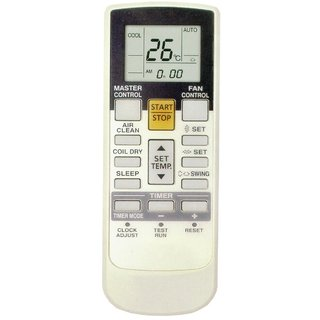 O General AC Compatible Remote + AA/AAA Batteries VE 107