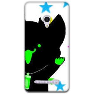 Mott2 Back Cover Cases For Asus Zenfone 5 AZ5RDNeonCat_25