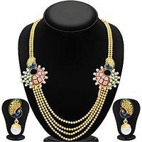 Sukkhi Gold Plated Golden Necklace Set For Women