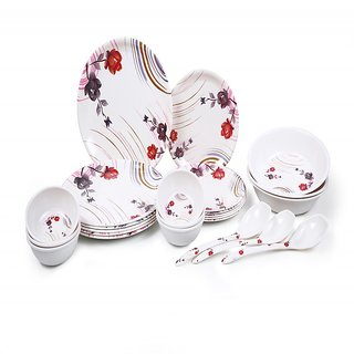 SUNRO 24 PCS DINNER SET