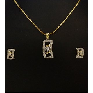 Trendy Gems - Pendant Set
