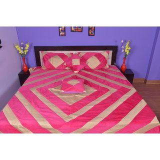 Calypso velvet and cotton new look khas design(khajoori silk)bedsheets