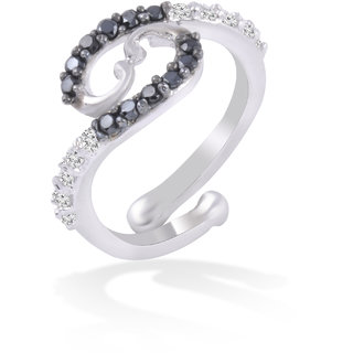 Fashion Jewellery Cz Party Wear Woman Girls Ad Finger Ring By Jewelscart.In JC01000330