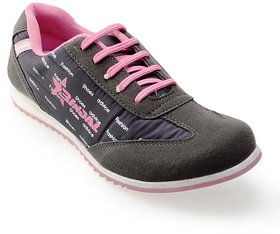Advice Women's Pink & Gray Sports Shoes
