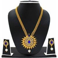 Zaveri Pearls Alluring Necklace Set-ZPFK3436