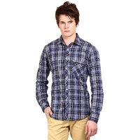 Wajbee Casual Check Shirt for Men