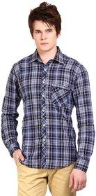 Wajbee Casual Check Shirt for Men