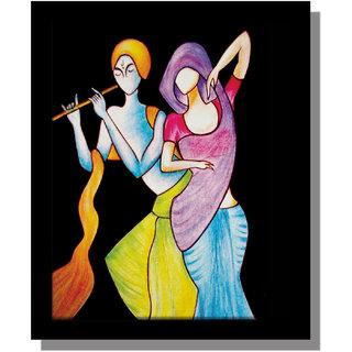 Radha Karishna Painting