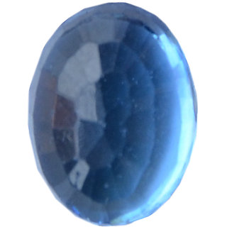 Akash Ganga 13.50 Ratti Original Blue Sapphire (Neelam), Super Delux Category