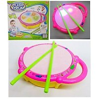 Musical Flash Drum Light Sound Toy with 2 Sticks