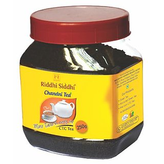 Riddhi Siddhi Chandni ctc jar-250gm Jar (with leafs)