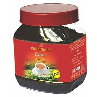 Riddhi Siddhi classic ctc jar-250gm Jar (with leaf's)