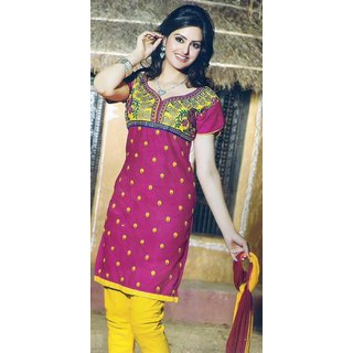 ef88ebb6354c Glace Cotton Suit Dress Material Prices in India- Shopclues- Online  Shopping Store