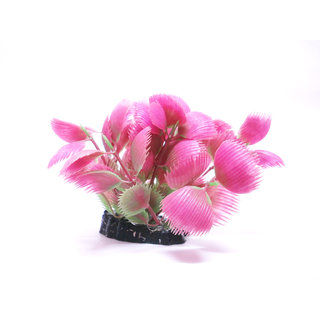 Artificial aquarium plastic plants