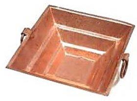 Astrology Goods Copper Havan Kund Size 12x12x5 Cm