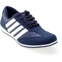 Advice Women's White & Blue Sports Shoes