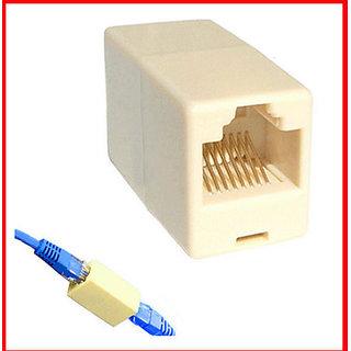 10 PCS X RJ45 CAT5 Network Cable Coupler / Extender / Jointer / Connector Jack