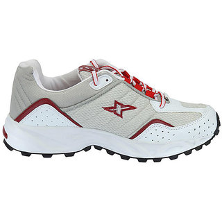 Sparx White Stylish Men's Sports Shoes