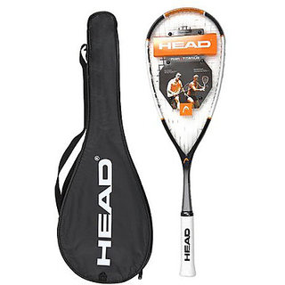 Head Nano Ti 120 Strung Squash Racquet