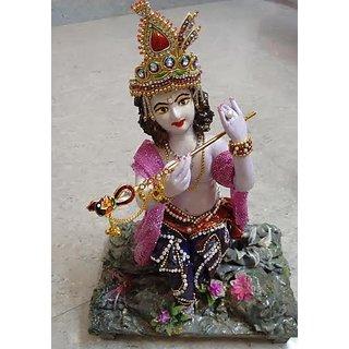 Krishna handmade clay work