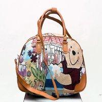 Leather Retail Unisex Designer traveling Air Bag